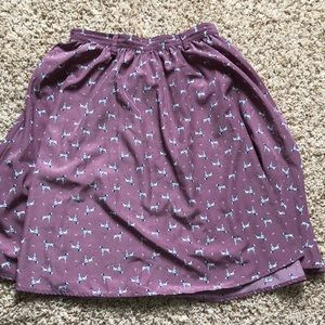 Dalmatian Skirt with Pockets
